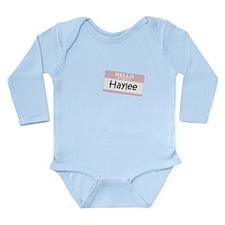 Unique Haylee Long Sleeve Infant Bodysuit