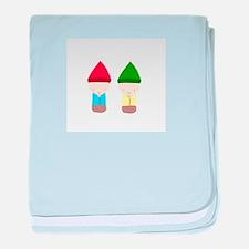 Gnomes baby blanket