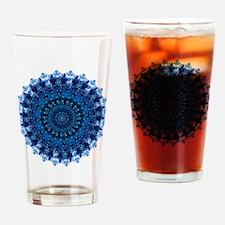Dotty Love Mandala Kaleidoscope Drinking Glass