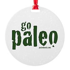 Go Paleo Ornament