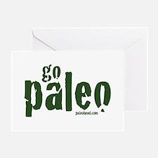 Go Paleo Greeting Card
