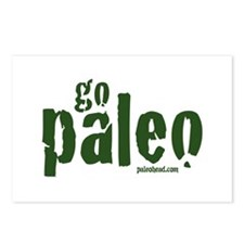 Go Paleo Postcards (Package of 8)