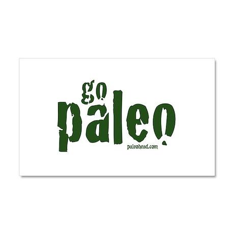 Go Paleo Car Magnet 20 x 12