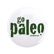 "Go Paleo 3.5"" Button"