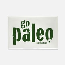 Go Paleo Rectangle Magnet