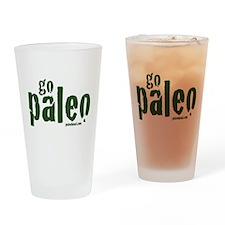 Go Paleo Drinking Glass