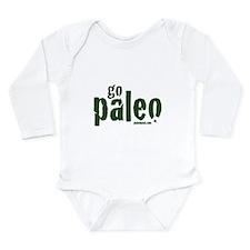 Go Paleo Long Sleeve Infant Bodysuit