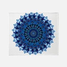 Dotty Love Mandala Kaleidoscope Throw Blanket