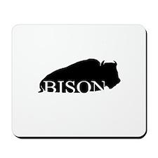 Black Bison Mousepad