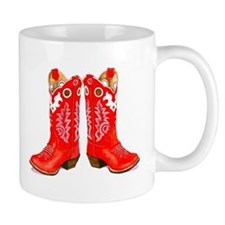 Red Boots Mugs