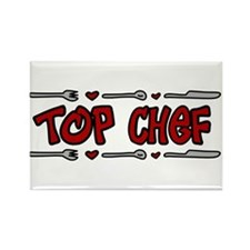 Top Chef Rectangle Magnet