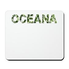 Oceana, Vintage Camo, Mousepad