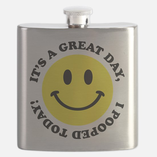 I Pooped Today! Flask