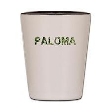 Paloma, Vintage Camo, Shot Glass