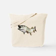 Toothy Musky Tote Bag