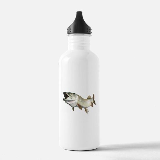 Toothy Musky Water Bottle