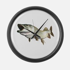 Toothy Musky Large Wall Clock