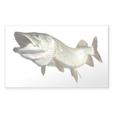 Toothy Musky Decal