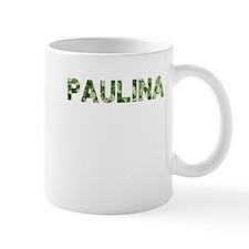 Paulina, Vintage Camo, Mug