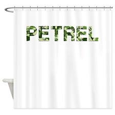 Petrel, Vintage Camo, Shower Curtain
