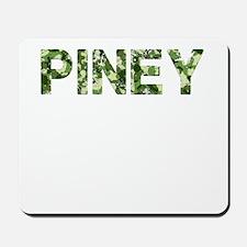 Piney, Vintage Camo, Mousepad