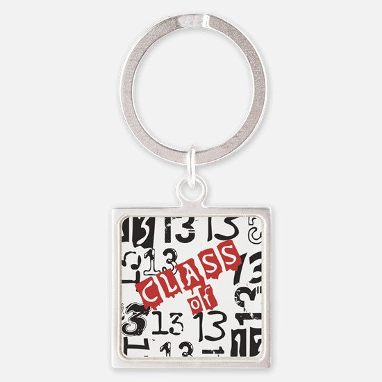 Mosaic Class of 2013 Square Keychain