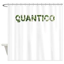 Quantico, Vintage Camo, Shower Curtain