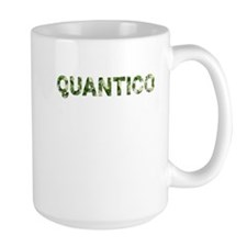 Quantico, Vintage Camo, Mug