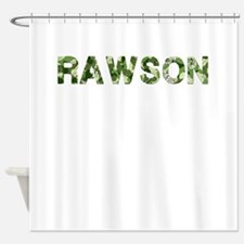 Rawson, Vintage Camo, Shower Curtain
