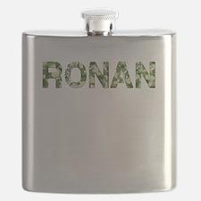Ronan, Vintage Camo, Flask
