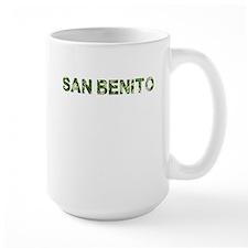 San Benito, Vintage Camo, Mug