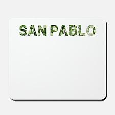 San Pablo, Vintage Camo, Mousepad