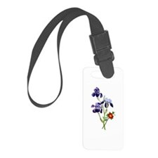 Jean Louis Prevost Bouquet Luggage Tag