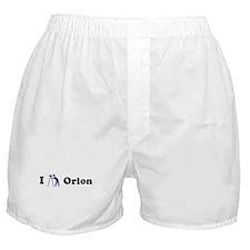 I Stargaze Orion Boxer Shorts