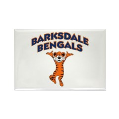 Barksdale Bengals! Rectangle Magnet (100 pack)