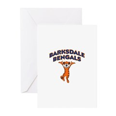 Barksdale Bengals! Greeting Cards (Pk of 10)