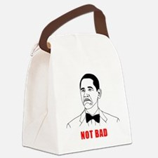 Not Bad Canvas Lunch Bag