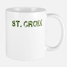 St. Croix, Vintage Camo, Mug