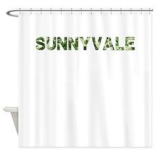 Sunnyvale, Vintage Camo, Shower Curtain