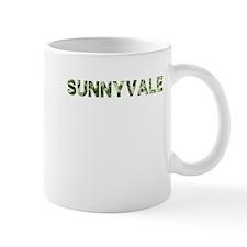 Sunnyvale, Vintage Camo, Small Mug