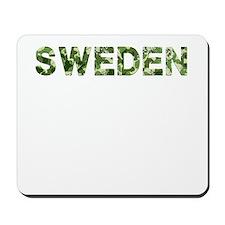 Sweden, Vintage Camo, Mousepad