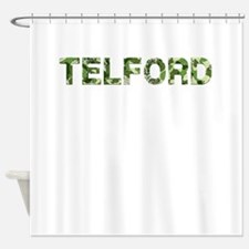Telford, Vintage Camo, Shower Curtain