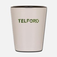 Telford, Vintage Camo, Shot Glass