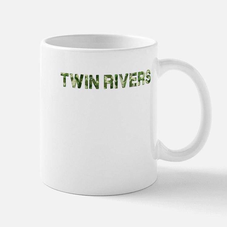 Twin Rivers, Vintage Camo, Mug
