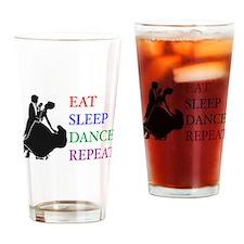 Unique Ballroom dancing Drinking Glass