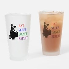 Cool Couple dancing Drinking Glass