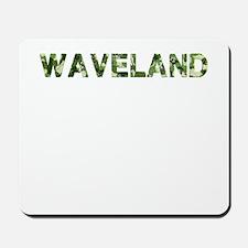 Waveland, Vintage Camo, Mousepad