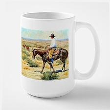 Cowboy Painting Mug