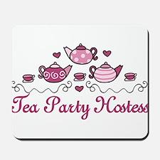 Tea Party Hostess Mousepad