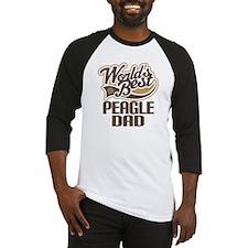 Peagle Dog Dad Baseball Jersey